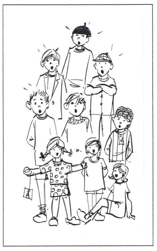 Zingende kinderen Staut